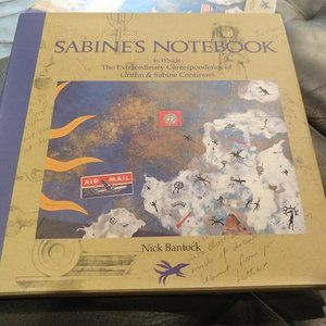 Sabine's Notebook by Nick Bantock, #2 in trilogy